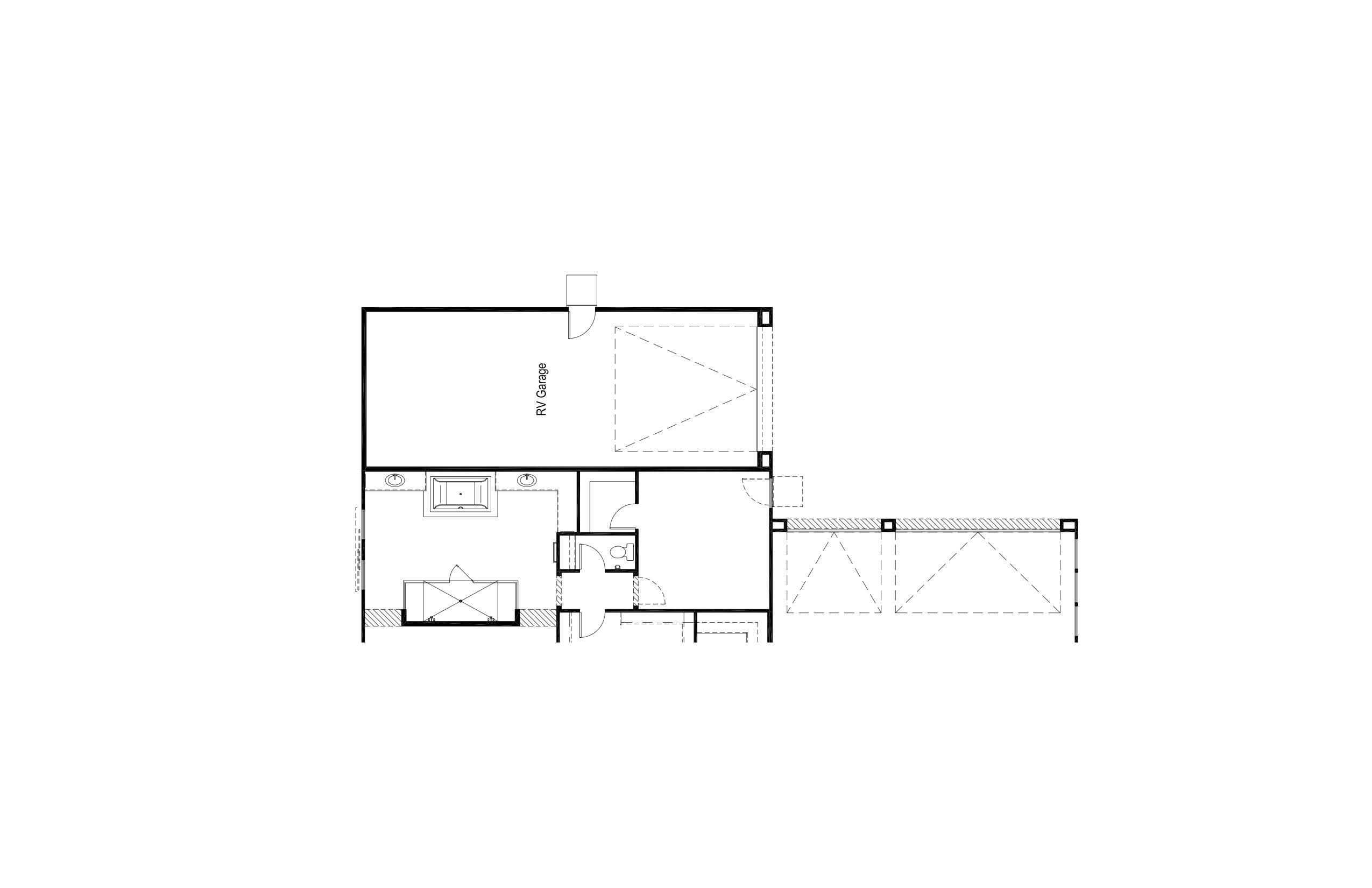 Plan 1 - Opt RV Garage