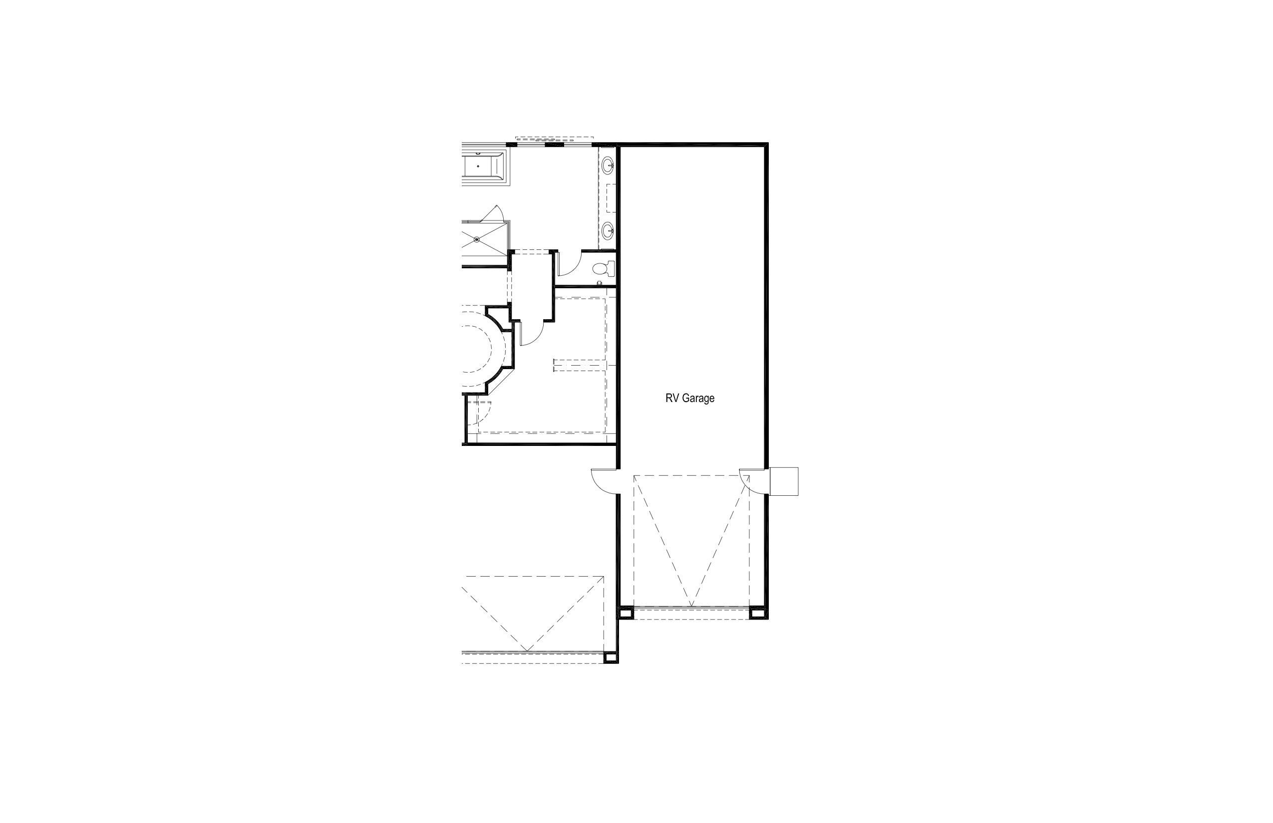 Plan 2 - Opt RV Garage