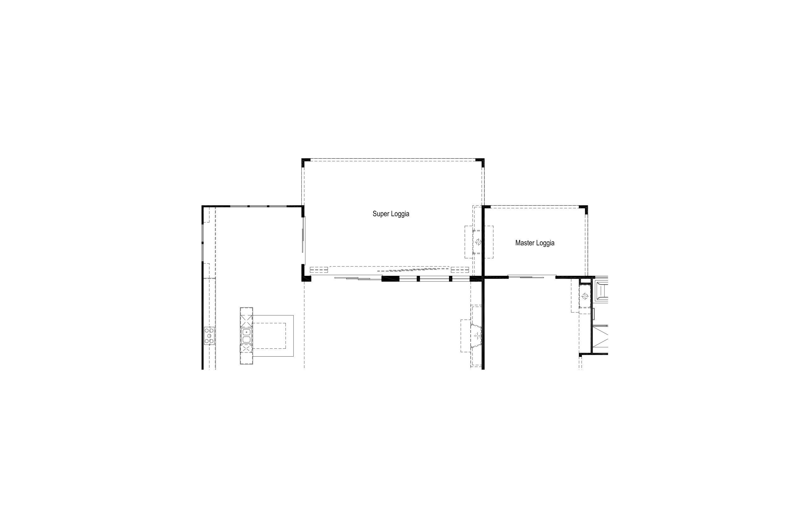 Plan 2 - Opt Super & Master Loggia